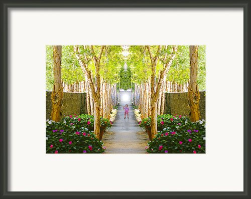Fairytale World Framed Print By Chuck Staley