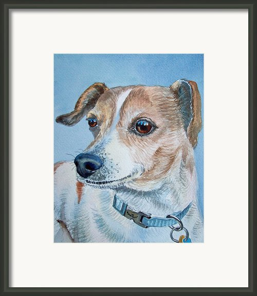 Faithful Eyes Framed Print By Irina Sztukowski
