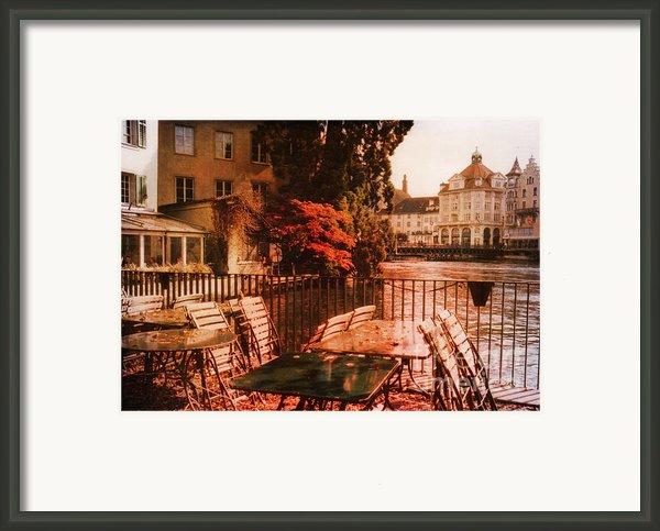 Fall In Lucerne Switzerland Framed Print By Susanne Van Hulst