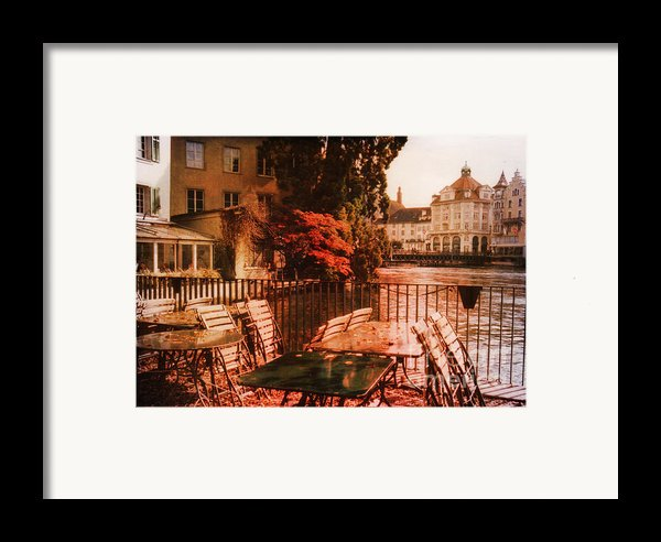Fall In Lucerne Switzerland Framed Print By Susanne Van Hulst