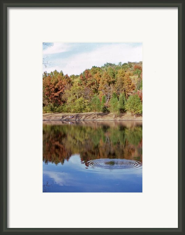 Fall Reflections - 1 Framed Print By Randy Muir