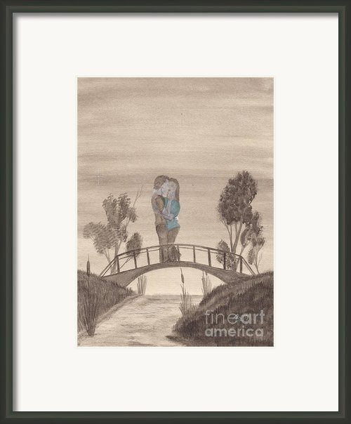 Falling... Framed Print By Robert Meszaros