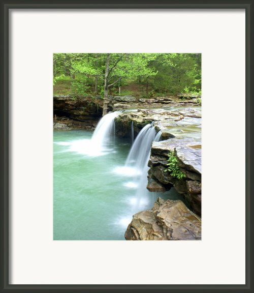 Falling Water Falls 5 Framed Print By Marty Koch