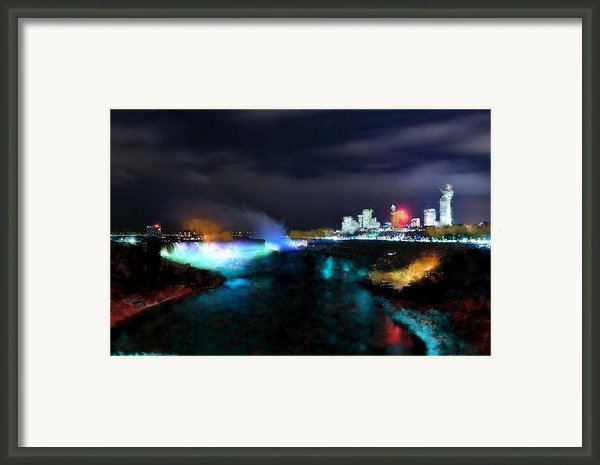 Falls Framed Print By Ilias Athanasopoulos