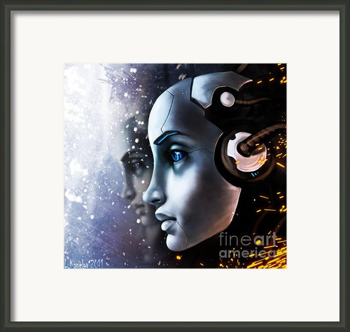 Fan Art Framed Print By Lyubomir Kanelov