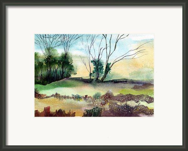 Far Beyond Framed Print By Anil Nene