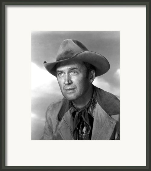 Far Country, The, James Stewart, 1955 Framed Print By Everett