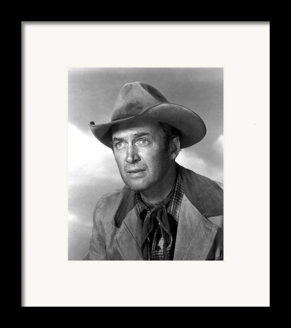Far Country, The, James Stewart, 1955 Framed Print By Everett
