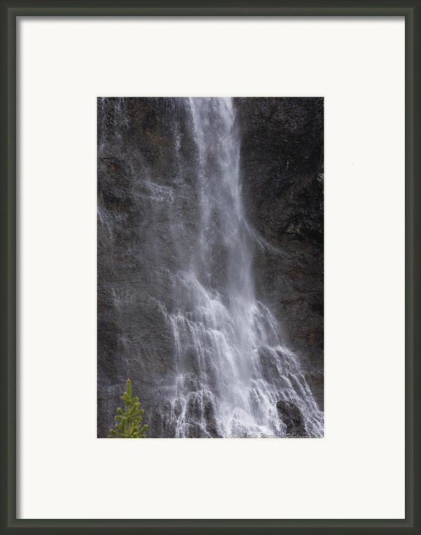 Farie Falls Framed Print By Charles Warren