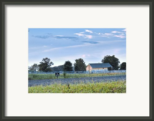 Farm House 3 Framed Print By Robert Jones