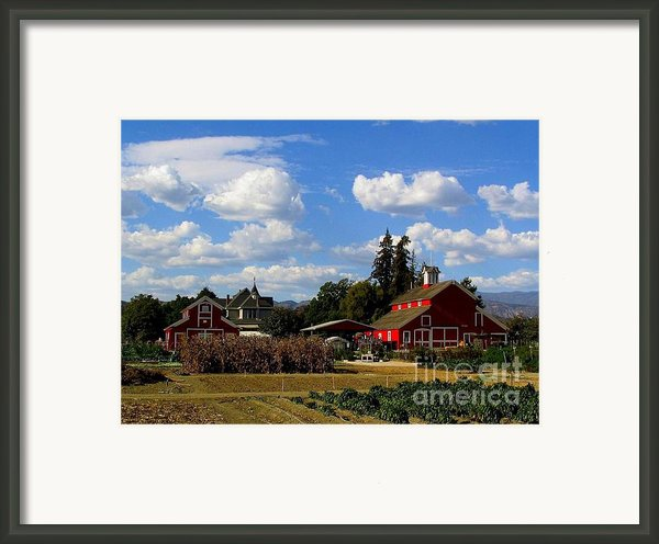 Farm House Framed Print By Scott Brown