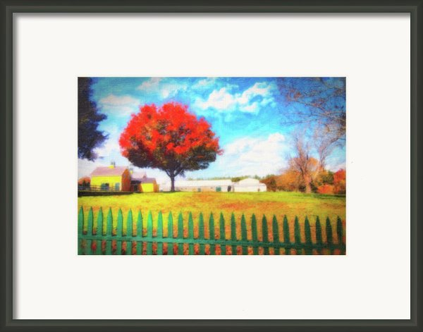 Farming Framed Print By Gina Cormier