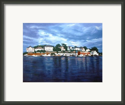 Faroy Framed Print By Janet King