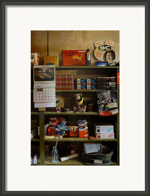 Fast Releif Framed Print By Doug Strickland