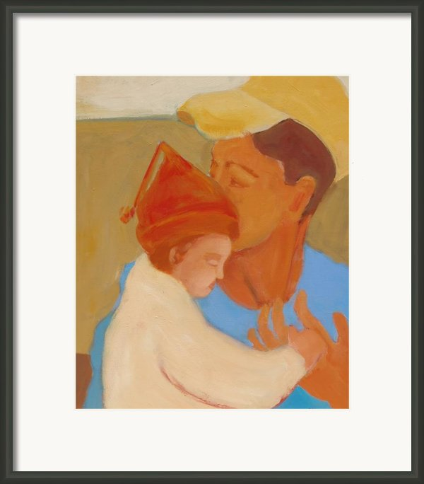 Father And Daughter Framed Print By Renee Kahn