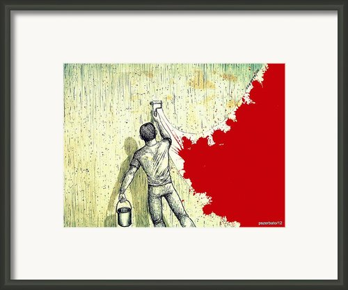 Father Depart From Me This Gray Framed Print By Paulo Zerbato