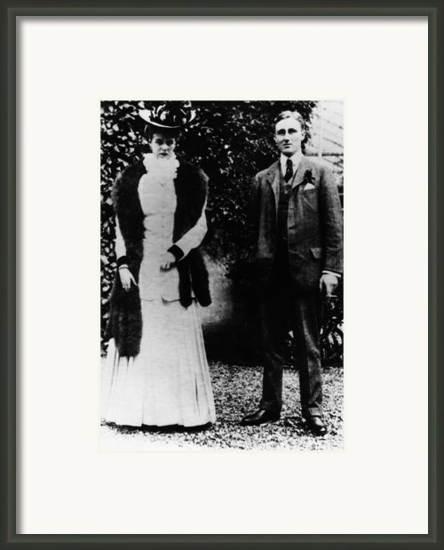 Fdr. Future First Lady Eleanor Framed Print By Everett