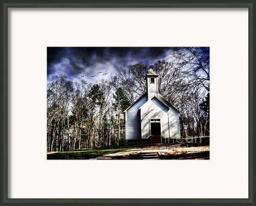 Fear Framed Print By Darren Fisher