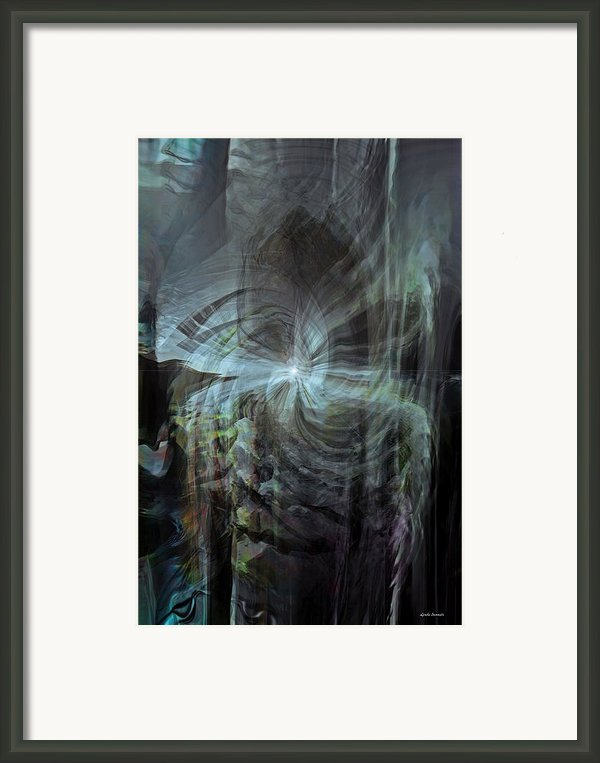 Fear Of The Unknown Framed Print By Linda Sannuti