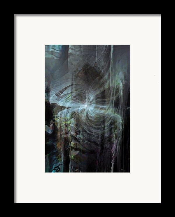 Fear Of The Unknown Framed Print By Linda Sannuti