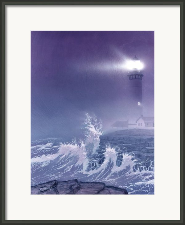 Fearless - Psalm 27 Framed Print By Cliff Hawley