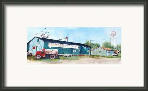 Feed And Seed Framed Print By Bobby Walters