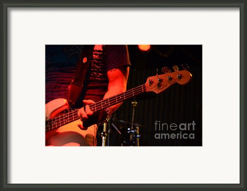 Fender Bender Framed Print By Bob Christopher