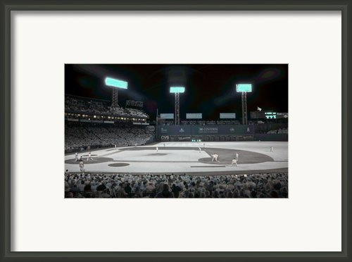 Fenway Infrared Framed Print By James Walsh