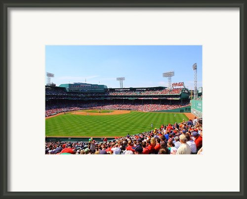 Fenway Framed Print By Jeff Heimlich