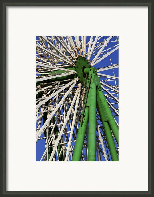 Ferris Wheel  Framed Print By Stylianos Kleanthous