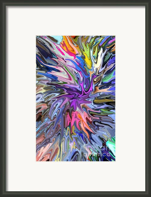 Festival Of Flowers Ii Framed Print By Chris Butler
