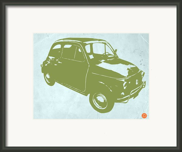 Fiat 500 Framed Print By Irina  March
