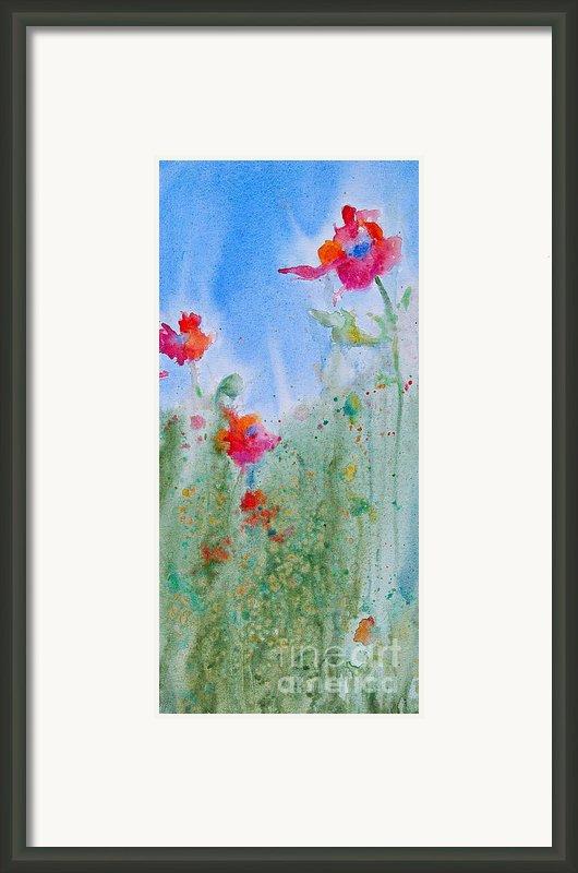 Field Flowers Framed Print By Reveille Kennedy