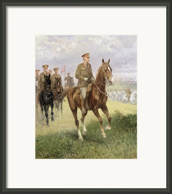 Field Marshal Haig Framed Print By Jan Van Chelminski
