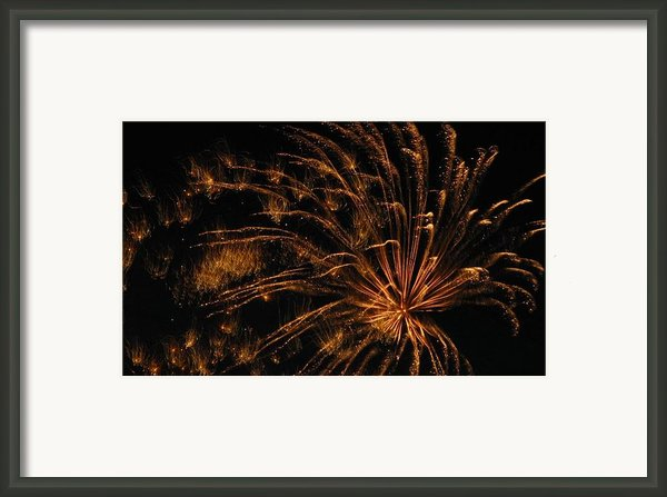 Fiery Framed Print By Rhonda Barrett