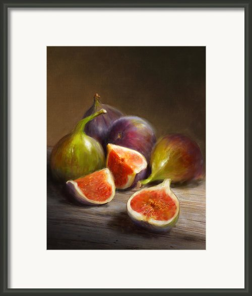 Figs Framed Print By Robert Papp