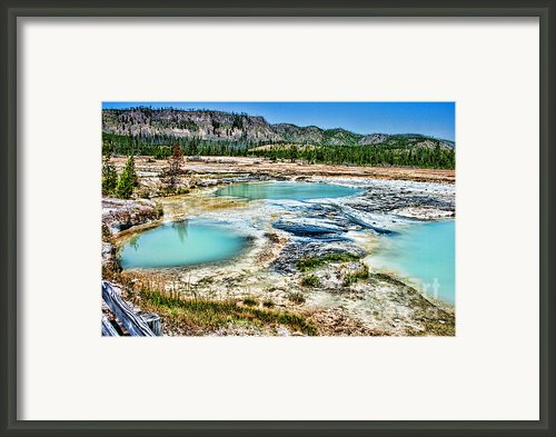 Filler Pools Framed Print By T Peterson