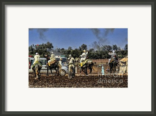 Final Festival I Framed Print By Chuck Kuhn