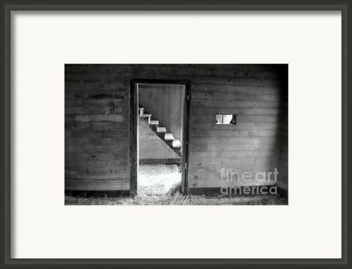 Finding The Other Side Framed Print By Karen Wiles
