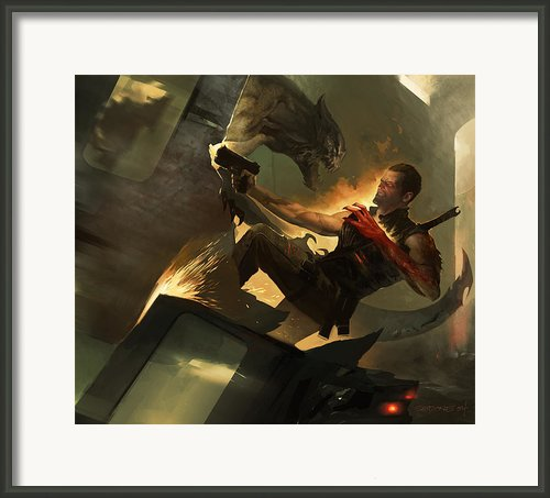 Fireborn Framed Print By Sedone Thongvilay