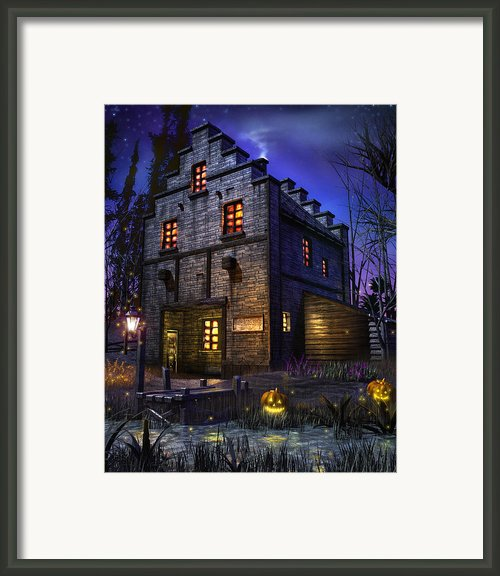 Firefly Inn Framed Print By Joel Payne