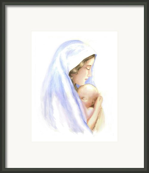 First Born Framed Print By Roberta Roddy