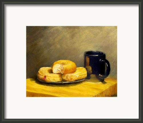 First Call...breakfast Framed Print By Jack Skinner
