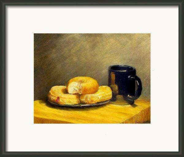 First Call...breakfast Framed Print By Jack Skinner