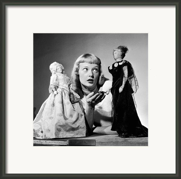 First Lady Dolls Framed Print By Grundy