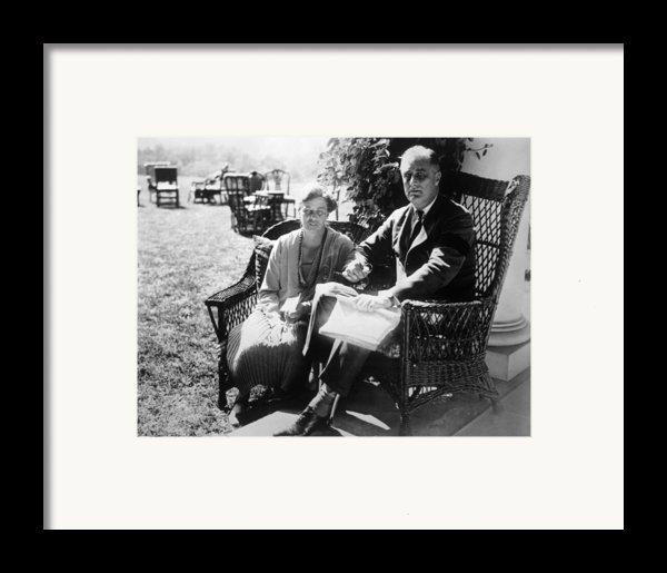 First Lady Eleanor Roosevelt, President Framed Print By Everett