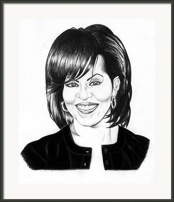 First Lady Framed Print By Jeff Stroman
