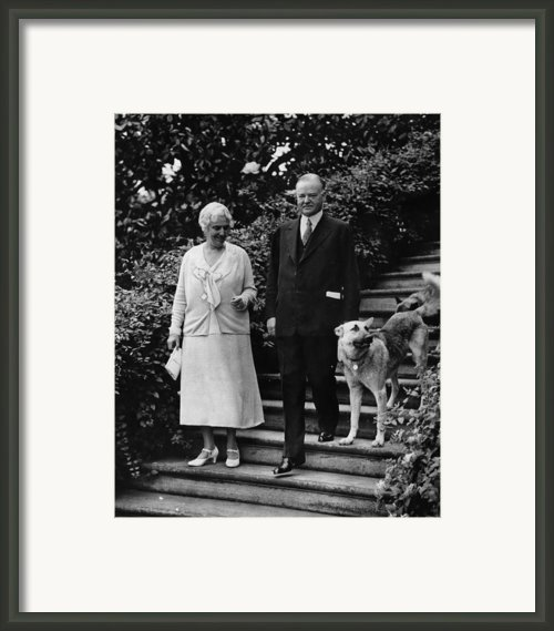First Lady Lou Henry Hoover, President Framed Print By Everett