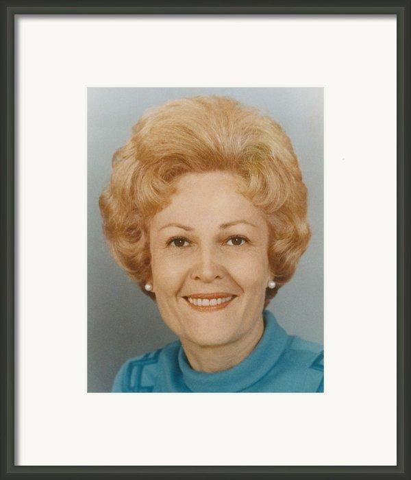First Lady Patricia Nixon 1912-1993 Framed Print By Everett