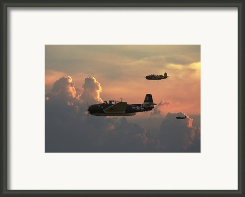 First Light Strike Framed Print By Pat Speirs